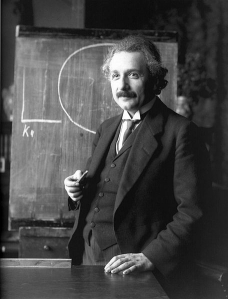 Physiker Albert Einstein